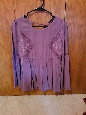 Forever 21 Lavender Purple Top