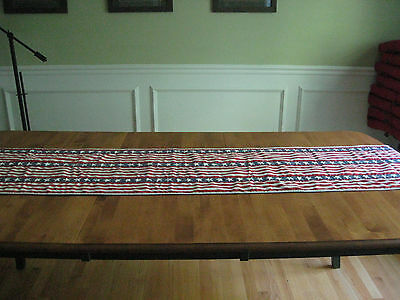 90 Patriotic 4th of July Table Runner