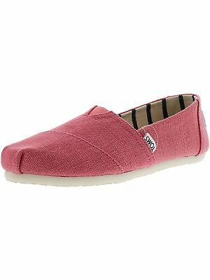 Toms Womens Classic Heritage Canvas Ankle-High Slip-On Shoes