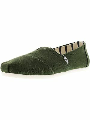 Toms Mens Classic Heritage Canvas Ankle-High Slip-On Shoes