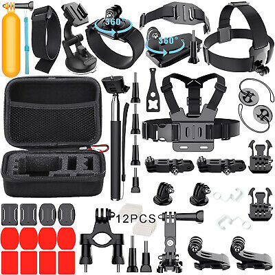 GoPro Accessories Outdoor Sports Bundle Kit for GoPro Hero 543-321 Cameras