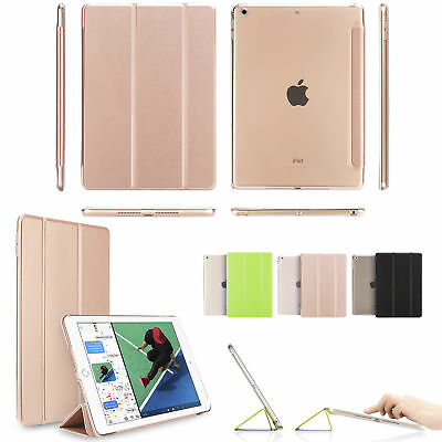 iPad 6th Generation 2018 9-7 Slim Magnetic Leather Smart Cover Case For Apple