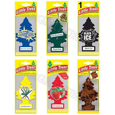 Little Trees Car Home Office Hanging Air Freshener Choose Your Scent 1PC Package