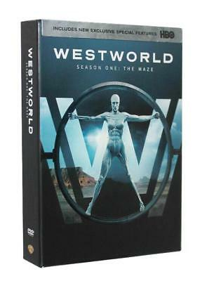 Westworld The Complete First Season 1 DVD 2017 3-Disc Set