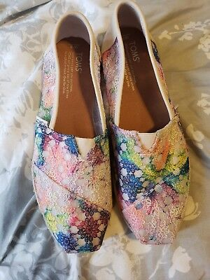 toms shoes size 8 womens