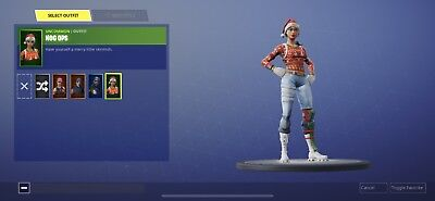 Fortnite SUPER RARE SKIN NOG OPS PLUS BLUE SQUIRE ONLY FOR PC AND MOBILE