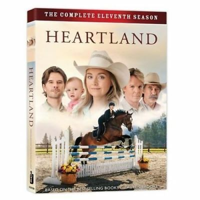 Heartland Season 11 DVD Box Set English - Region 1 Amber Marshall NEW