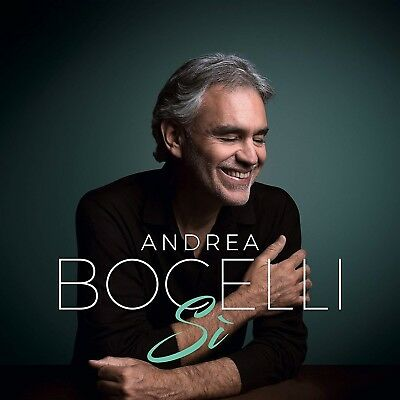 SALE  ANDREA BOCELLI Si New CD 2018 BRAND NEW SEALED Package