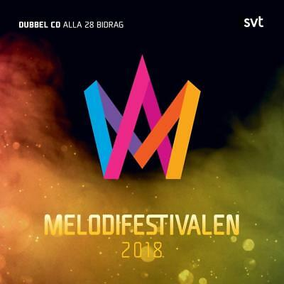 MELODIFESTIVALEN 2018 EUROVISION 28 Tracks WMS-5054197-991226 Sweden Sealed 2CD