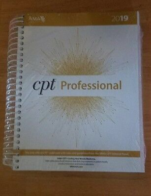 CPT Professional 2019 by American Medical Association Spiral Book Brand New