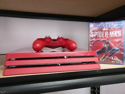 Sony 3003194 PlayStation 4 Pro 1 TB Marvels Spider-Man Game Console
