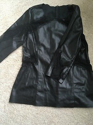 Womens Zara W-B Collection Top Large
