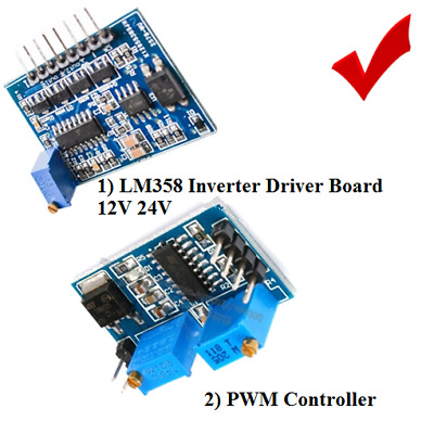 SG3525 LM358 INVERTER DRIVER BOARD MIXER REGULATED OUTPUT PWM CONTROLLER