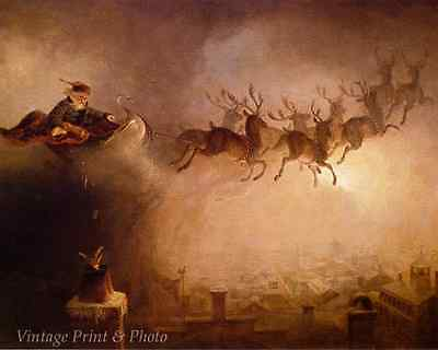Christmas Reindeer Toys - Santa Claus by William H Beard 8x10 Print Picture 0479