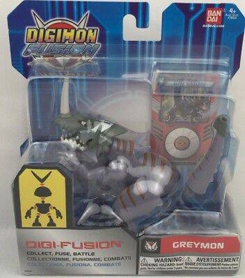 Digimon Fusion - Digi-Fusion Greymon Collect Fuse - Battle Bandai 2013 MOC