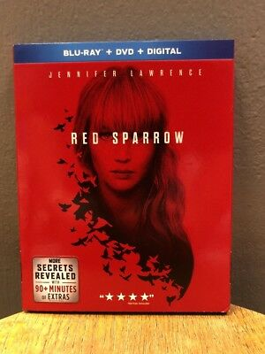 Red Sparrow Blu Ray - DVD 2018 Jennifer Lawrence