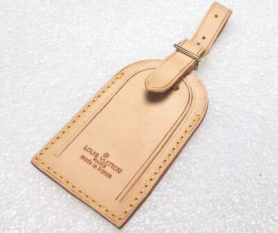 Authentic Louis Vuitton Large Name Tag  Older- One pc-