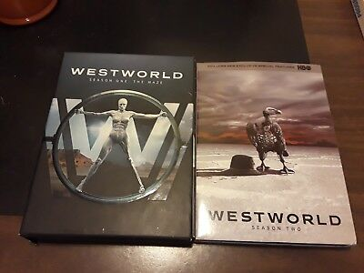 Westworld dvd Complete 1st And Second Seaons Watched Once 6 DVDS