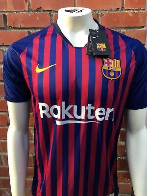 Barcelona Home Jersey Messi Champions Version 2018 2019 Season New size S to XL
