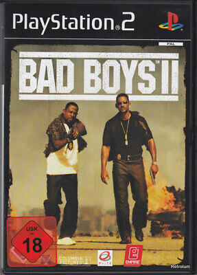 BAD BOYS 2 II PS2 IN BOX MIT ANLEITUNG