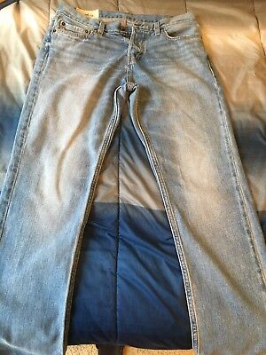 Mens Hollister Co Slim Straight Jeans Size 30 X 32