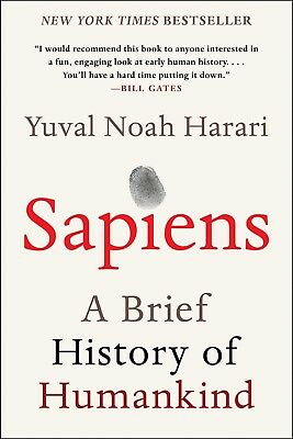 Sapiens A Brief History of Humankind Paperback by Yuval Noah Har