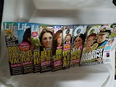 Royal Meghan Markle Kate Middleton OK In Touch Life - Style Lot 818 Issues