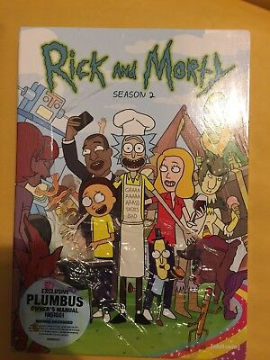 Rick and Morty Complete Second Season 2 Brand New First Print