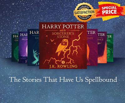 Harry Potter Audiobook Collection Read by Stephen Fry - MP3 - BONUS