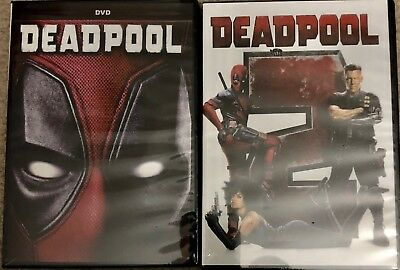 DeadPool 1 and 2 DVD Bundle Free USPS Shipping
