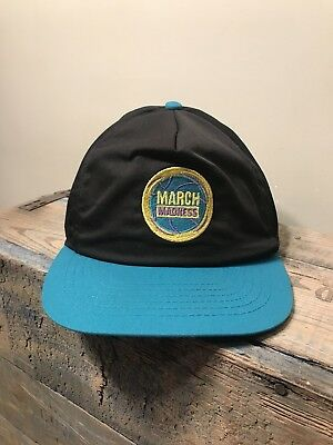 Vintage March Madness Doritos Mountain Dew Snapback Hat Cap Vintage 90s EUC