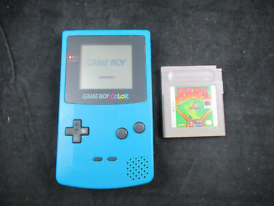 Nintendo Game Boy Color - Teal - CGB-001 - Tested with GB Game