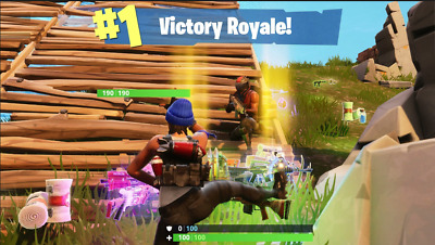 Fortnite Victory Royale GUARANTEED FAST WINS PC Xbox PS4 Ive 530- wins