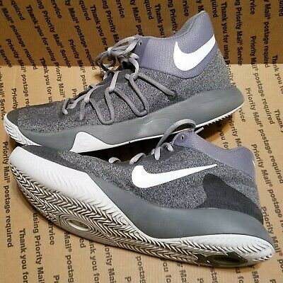Nike KD Trey 5 V Mens Sneakers Shoes Cool Grey Size 9 SHIPS FAST