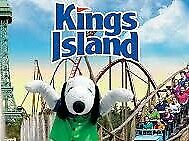 2 Kings Island 1 day General Admission ticket E-Tickets