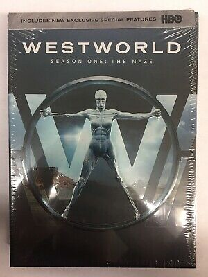 Westworld First Season The Maze DVD 2017New Free Shipping
