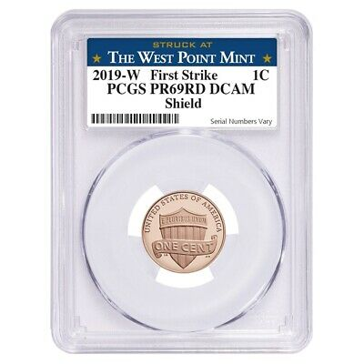 2019 W Proof Lincoln Penny Cent Comm- PCGS PF 69 FS West Point