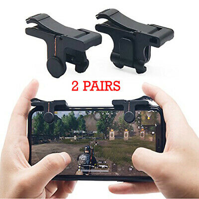 2 Pair Mobile Phone Game Trigger Controller L1R1 Fire Buttons PUBG Fortnite