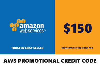 150 Amazon Web Services AWS Credit Code