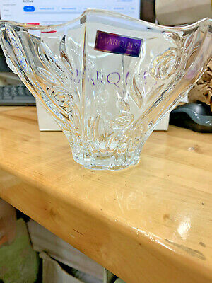 Marquis By Waterford Crystal Rose Garden Bowl