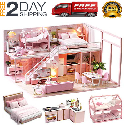 LOL SURPRISE DOLL HOUSE Miniature Furniture - SURPRISES Christmas Gifts USA