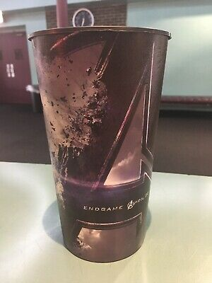 Avengers Endgame 44oz Plastic Movie Theater Cup Brand New