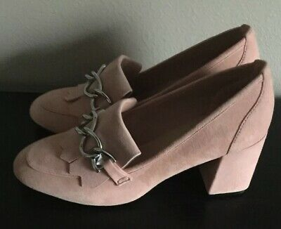 Aldo Pink Suede Loafers Sz 8 NWOT