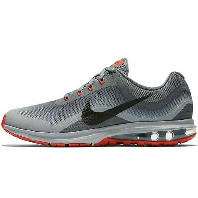 Nike Air Max Dynasty 2 Wolf Grey Red Black 852430-013 Mens Running Shoes NEW