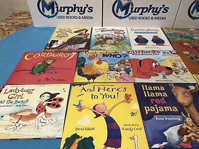 Story Time Assorted Bundle  Lot of 20 Story Books for KidsToddlersDaycare MIX