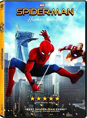 SPIDERMAN HOMECOMING DVD 2017   New - Sealed