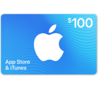 Apple App Store - iTunes Gift Cards - 100