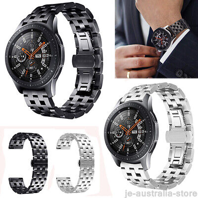 Stainless Metal Watch Band Wristband Strap For Samsung Gear S3 Frontier Classic