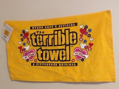 Pittsburgh Steelers  Mothers Day Terrible Towel - NFL MOM NFL-NWT