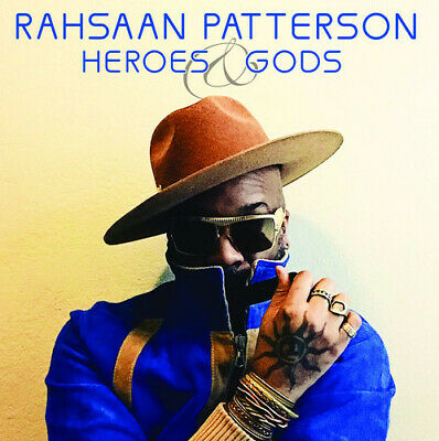 Rahsaan Patterson Heroes - Gods BRAND NEW CD
